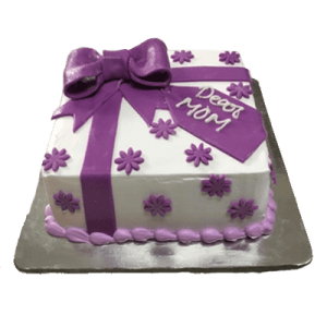 Mother's special birthday cake