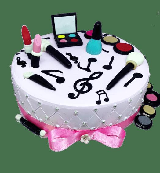 Makeup Kit Truffle Chocolate Cake