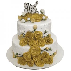 Rose Fondant Cake